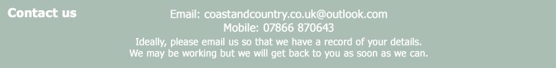 Coast and Country Property Management contact details